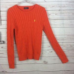 Polo Ralph Lauren 100% cotton cableknit sw…